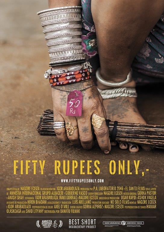 'Fifty Rupees Only' se proyectará en Haro el próximo miércoles 8 de noviembre 1