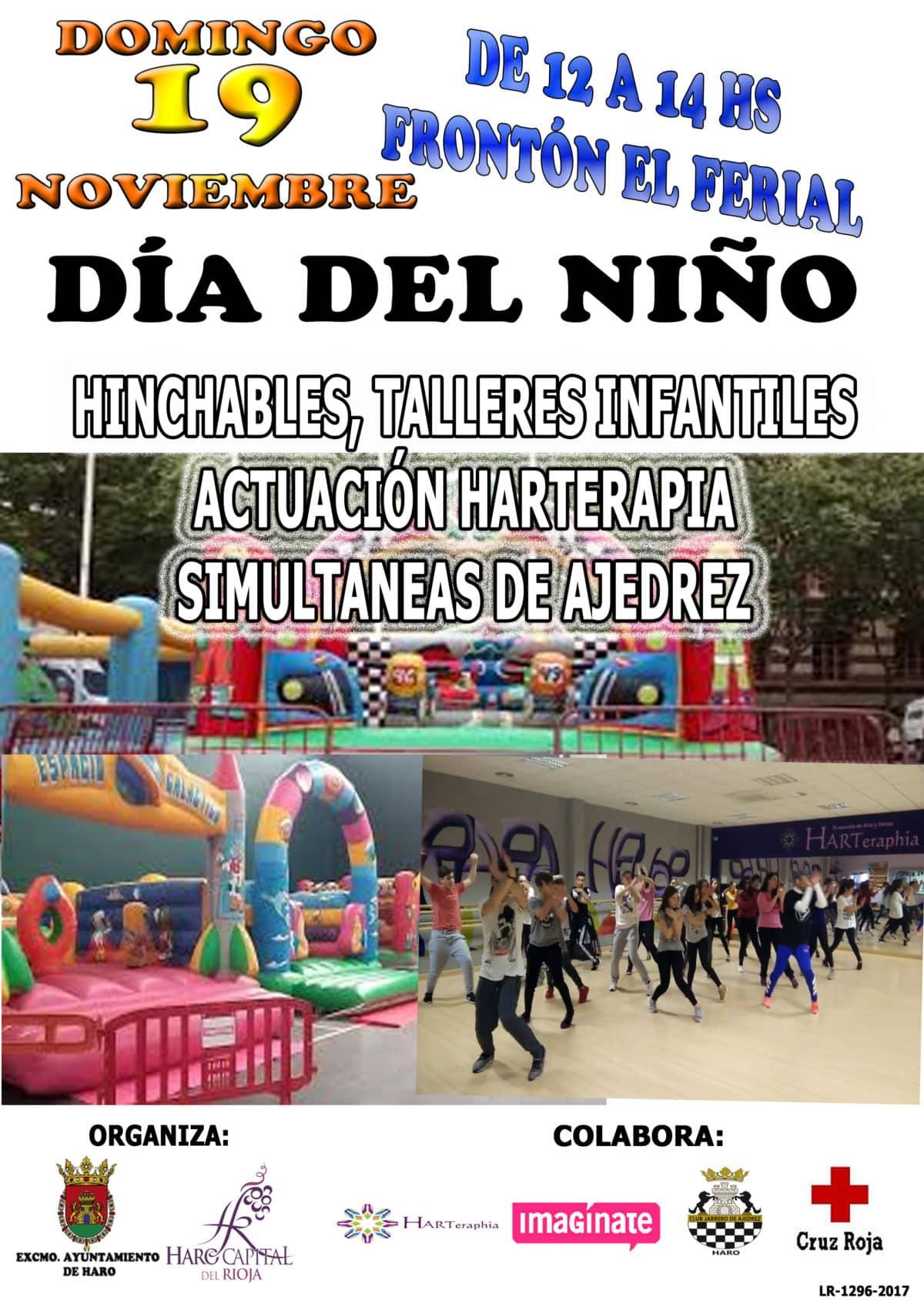 Haro celebrará este domingo el Día Mundial de la Infancia 1