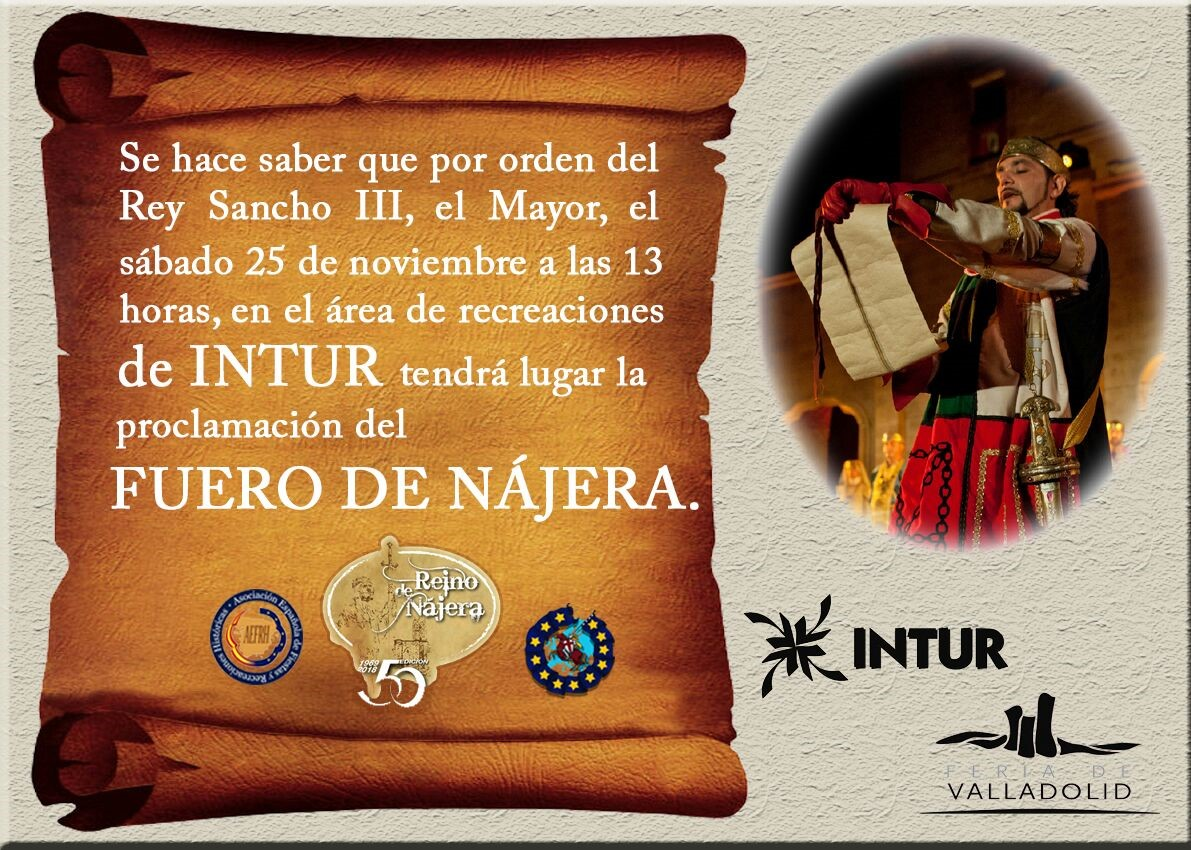 La representación medieval El Reino de Nájera llega este sábado a INTUR 1