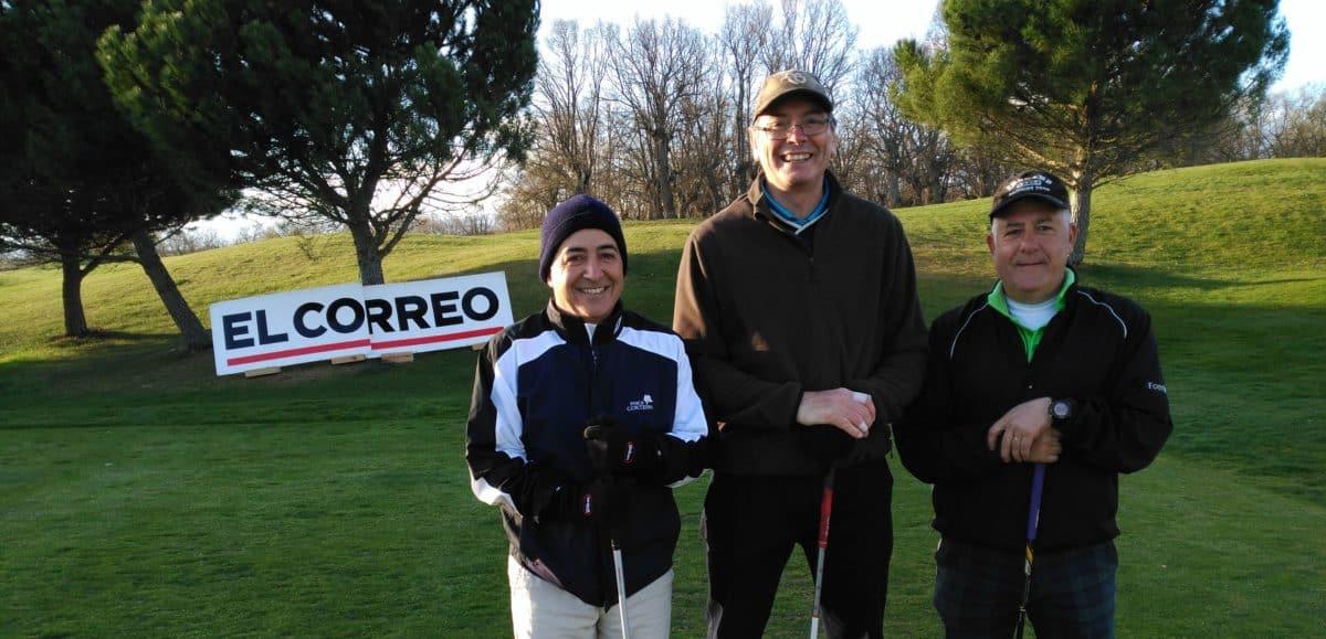 Los ganadores del Torneo de Golf 'El Correo' disputarán este fin de semana en Madrid la gran final nacional 3