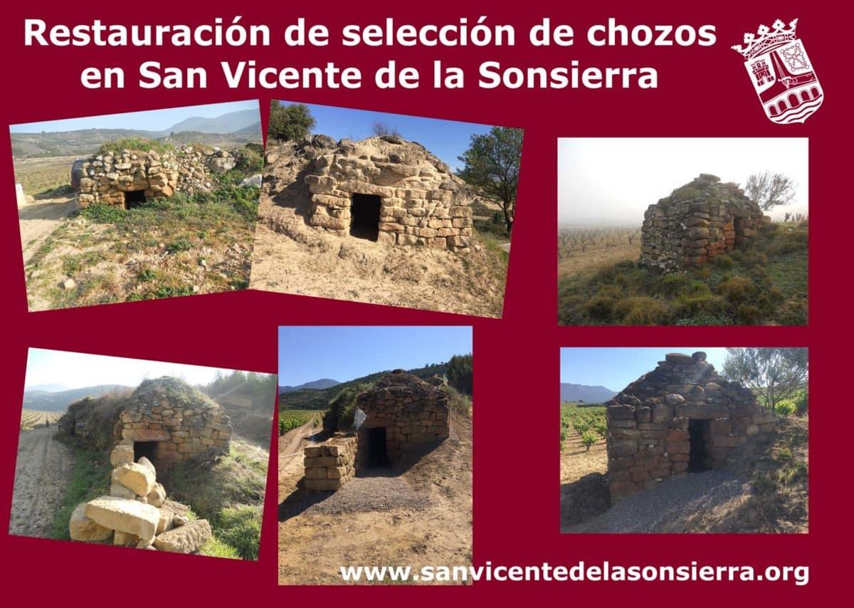 San Vicente de la Sonsierra restaura una selección de diez chozos 1