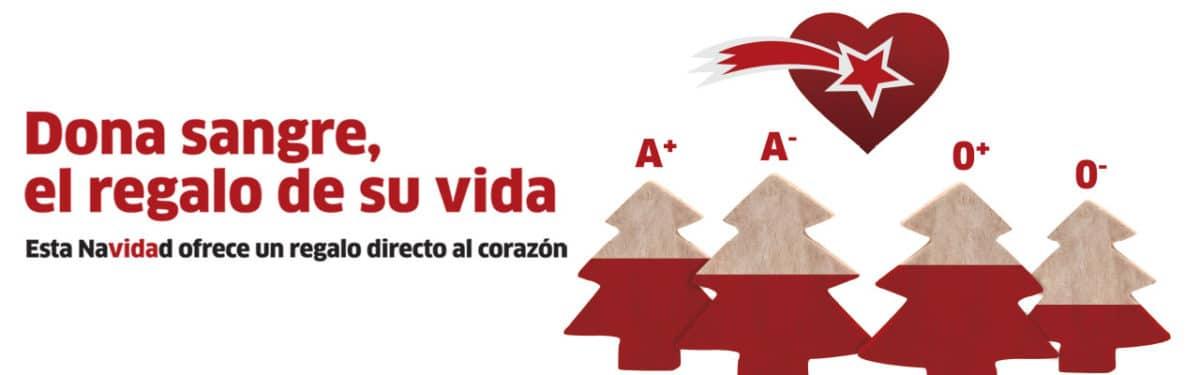"""El Banco de Sangre anima a """"regalar vida"""" en su campaña de Navidad para que no desciendan las donaciones 1"""