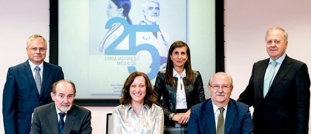 El jarrero José Antonio Oteo, entre los 25 embajadores de la sanidad española elegidos por Diario Médico 1