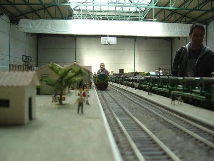 El puente sobre el río Tirón en Haro, una de las novedades de la exposición de la Asociación de Amigos del Ferrocarril 7