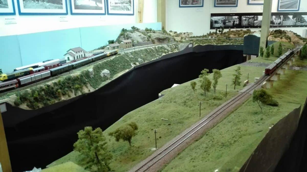 El puente sobre el río Tirón en Haro, una de las novedades de la exposición de la Asociación de Amigos del Ferrocarril 5