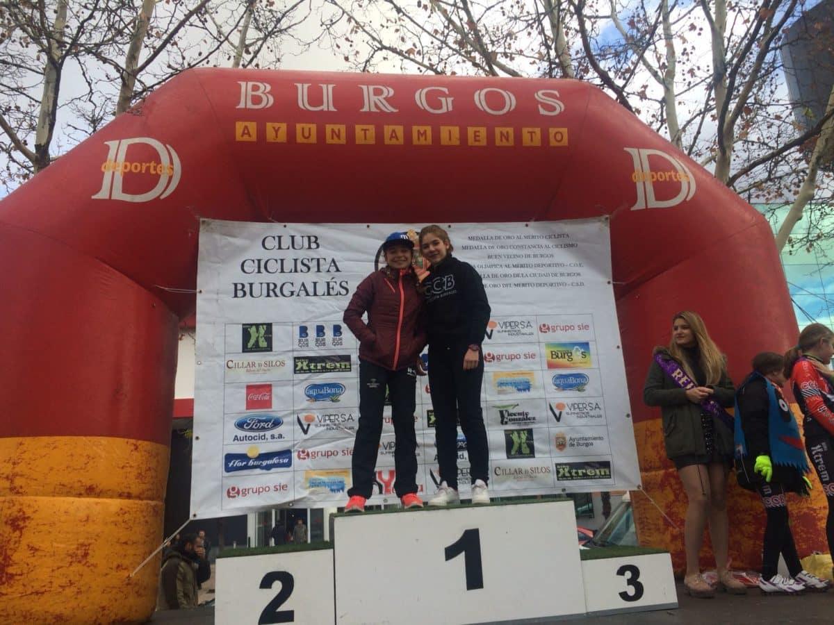 La jarrera María López, tercera en la Carrera del Pavo de Burgos 3