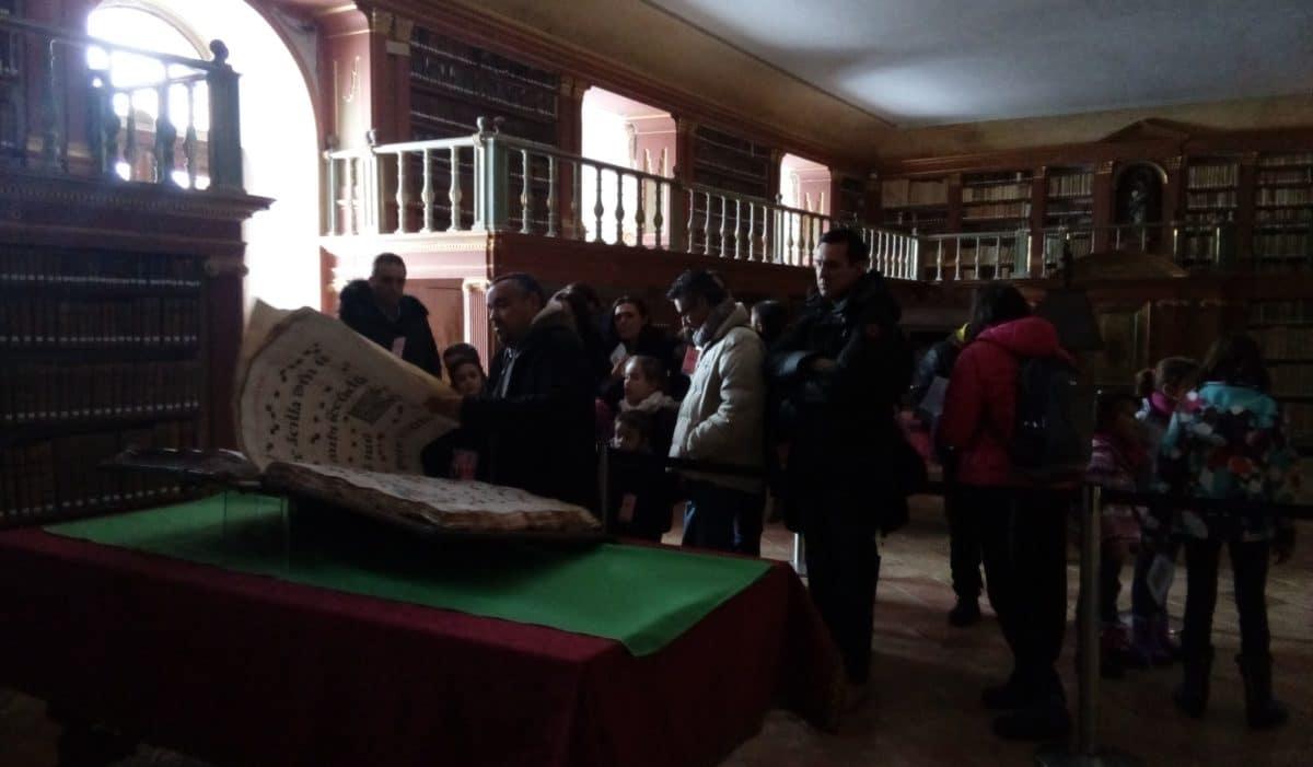 Éxito de las jornadas de puertas abiertas de los monasterios de San Millán 1