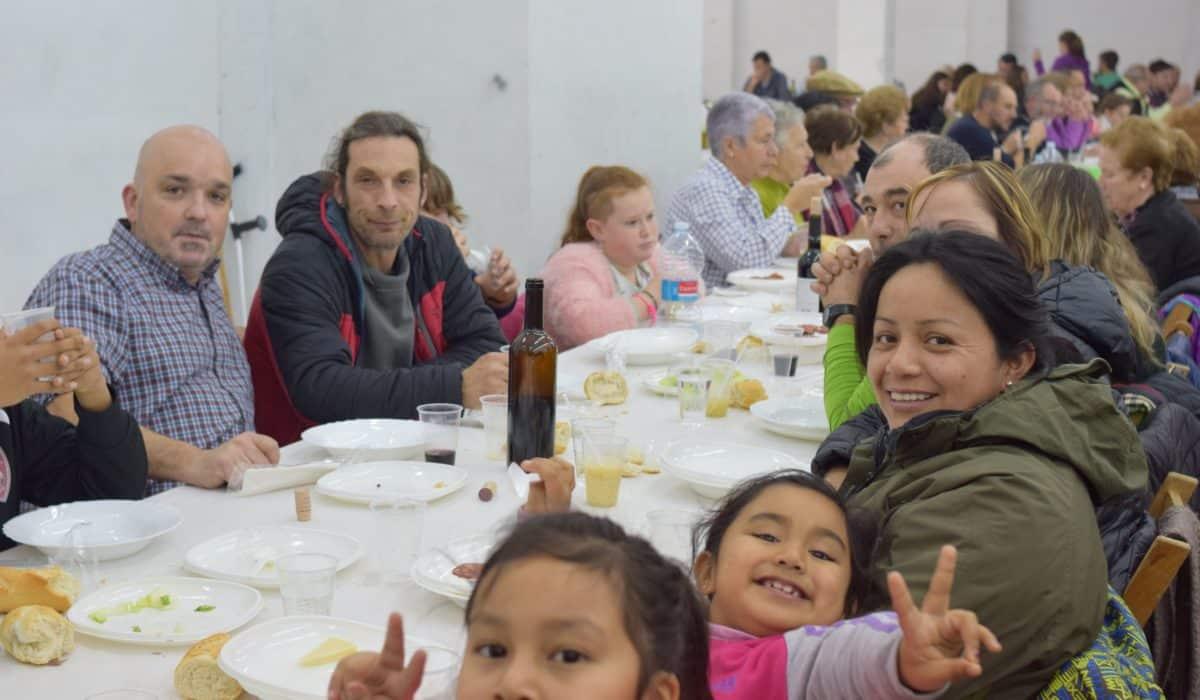 Sábado de celebración en el Barrio de Santa Lucía 18