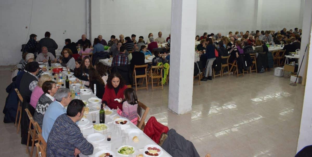 Sábado de celebración en el Barrio de Santa Lucía 19