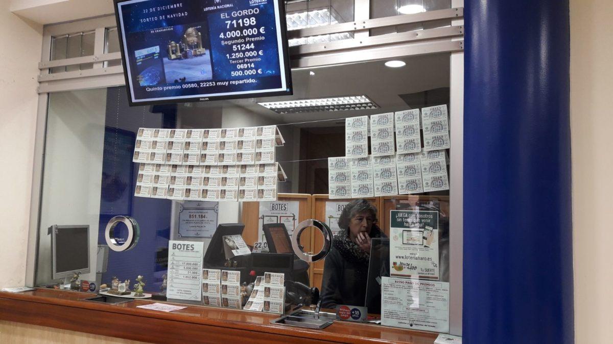 Un quinto premio de la Lotería de Navidad cae en Haro 1