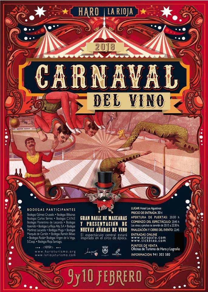 Seis medios de comunicación nacionales cubrirán el Carnaval del Vino de Haro 1
