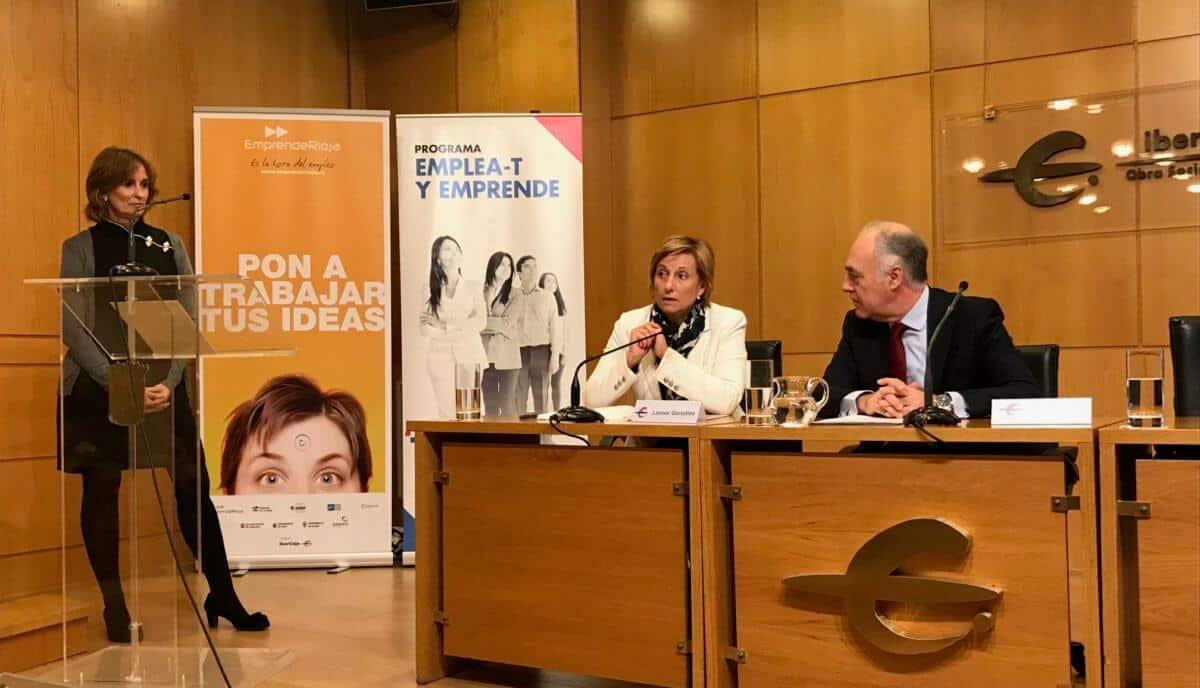 ADER y la Fundación Ibercaja renuevan su convenio de colaboración para financiar acciones del Plan 'EmprendeRioja' 1