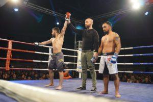 Ander Sánchez vence por finalización su combate de MMA con Cristian Fieraru 1