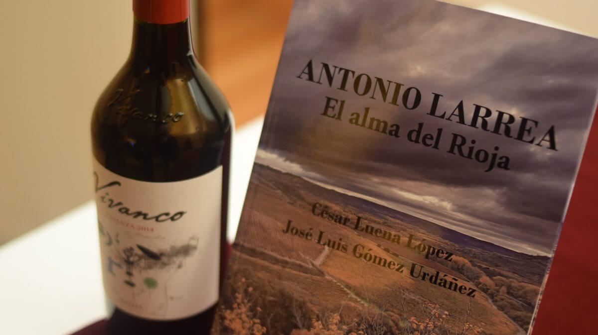 Antonio Larrea, puente entre el pasado y el futuro del Rioja 2