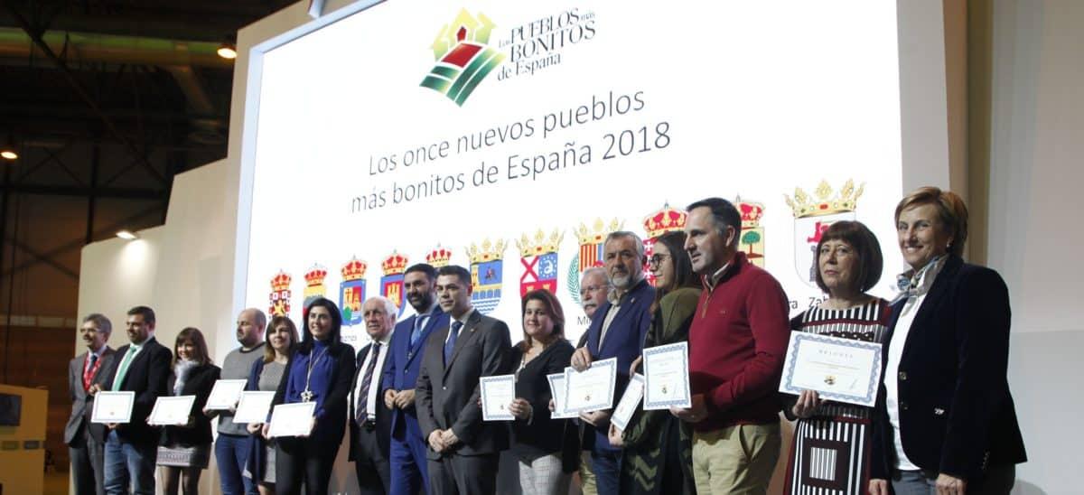 Briones recibe en FITUR su acreditación como Pueblo más Bonito de España 1