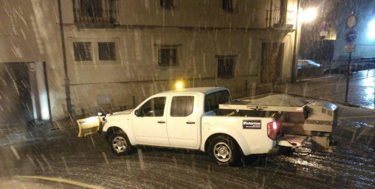 El Ayuntamiento de Haro mantiene activo el plan de vialidad invernal 1