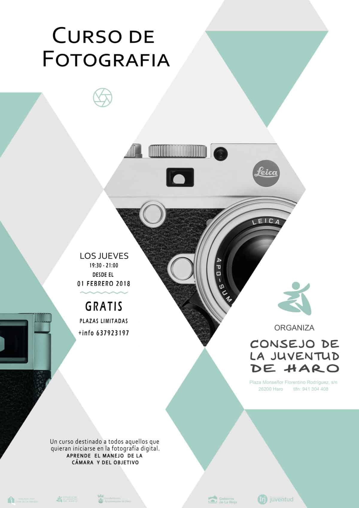 El Consejo de la Juventud organiza un curso de fotografía en el Vivero de Empresas 1
