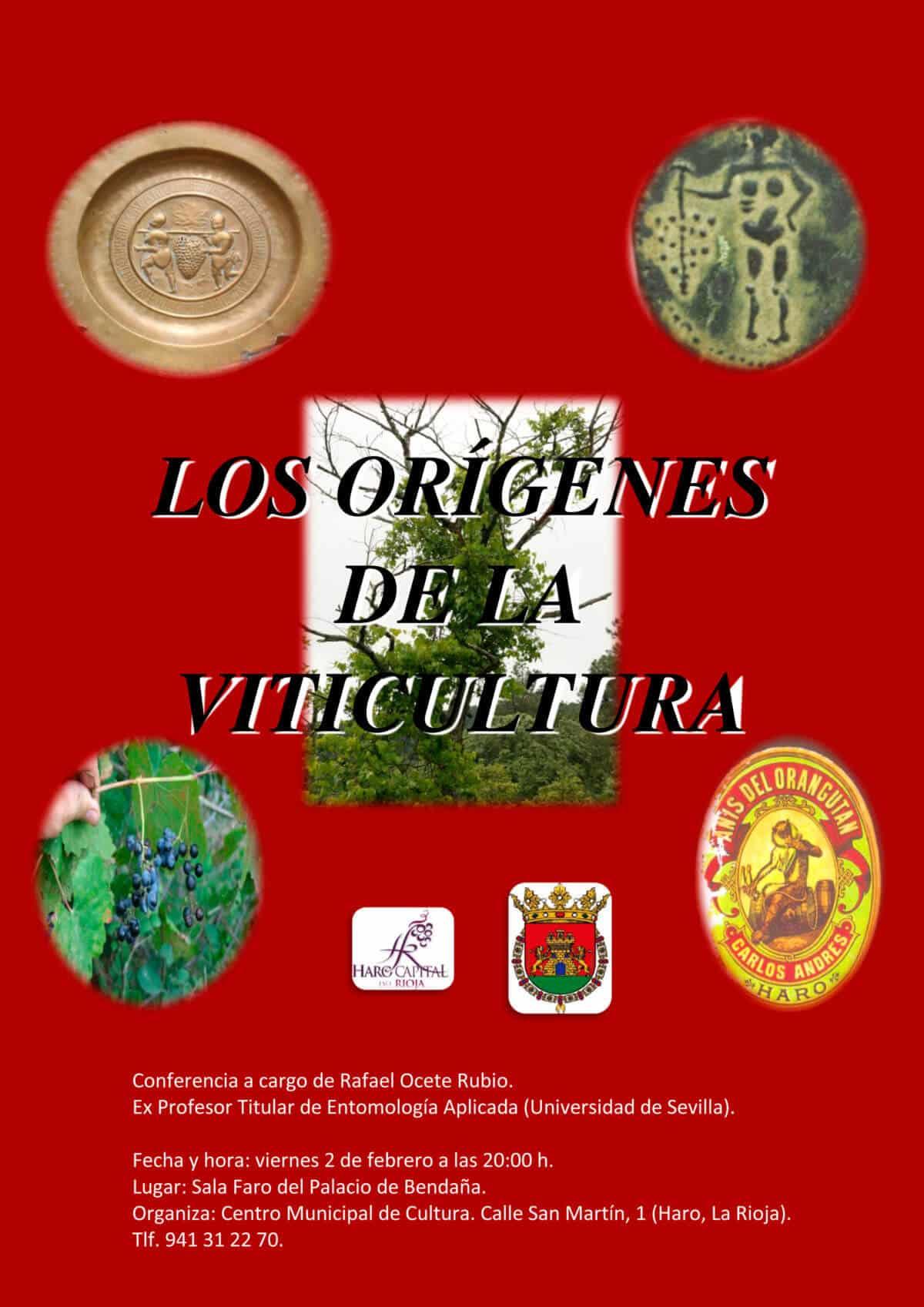 El Palacio de Bendaña acoge este viernes una conferencia de Rafael Ocete sobre los orígenes de la viticultura 1