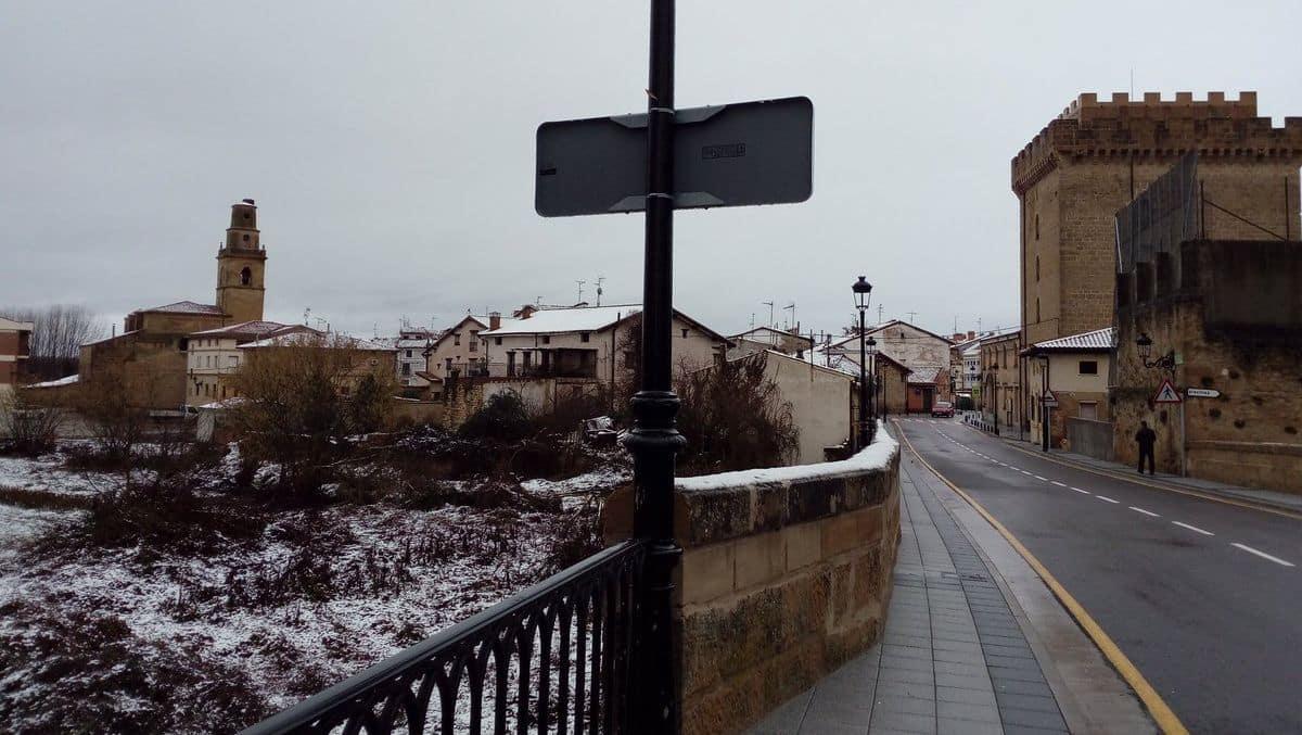 Estampas de la nevada en la Rioja Alta: paisajes vestidos de blanco para despedir la Navidad 6