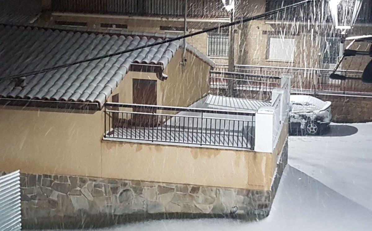 Estampas de la nevada en la Rioja Alta: paisajes vestidos de blanco para despedir la Navidad 10
