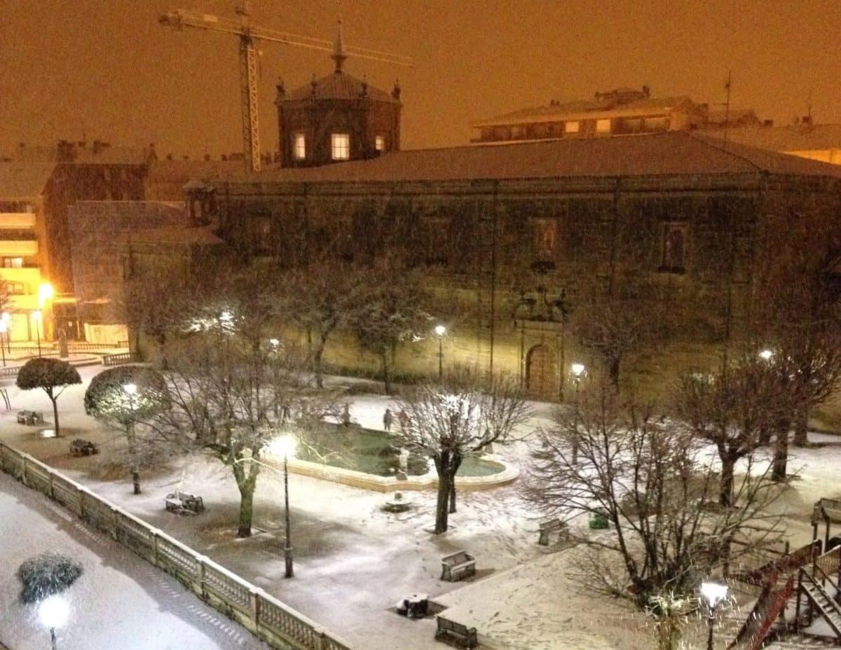Estampas de la nevada en la Rioja Alta: paisajes vestidos de blanco para despedir la Navidad 11