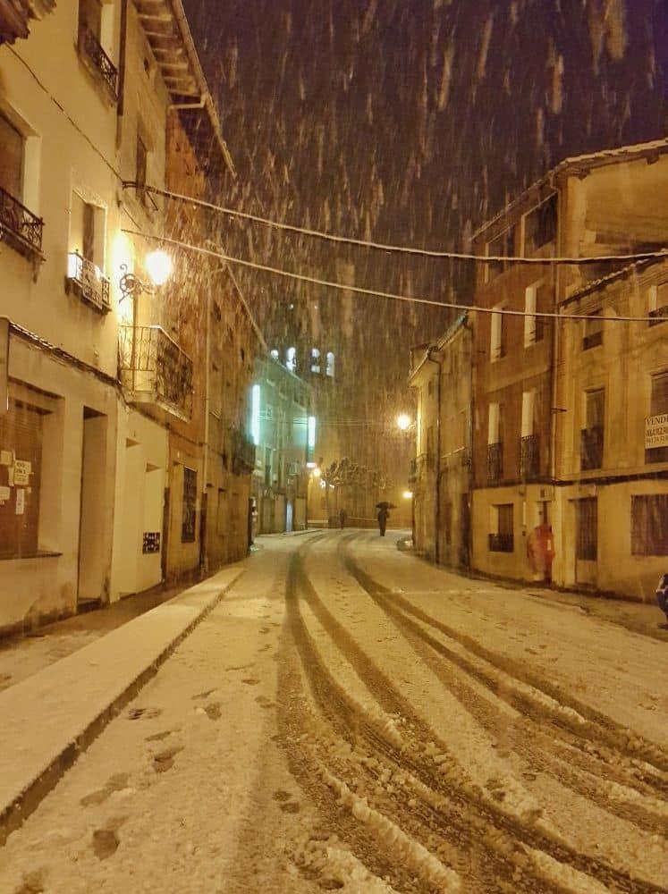 Estampas de la nevada en la Rioja Alta: paisajes vestidos de blanco para despedir la Navidad 12