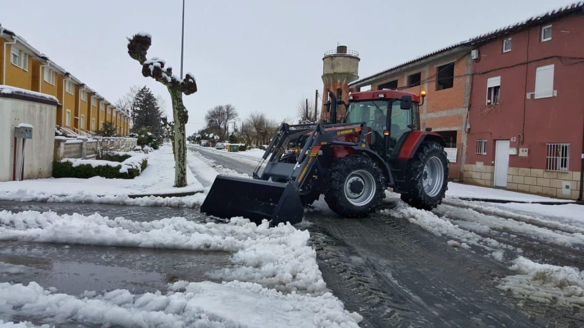 Estampas de la nevada en la Rioja Alta: paisajes vestidos de blanco para despedir la Navidad 14