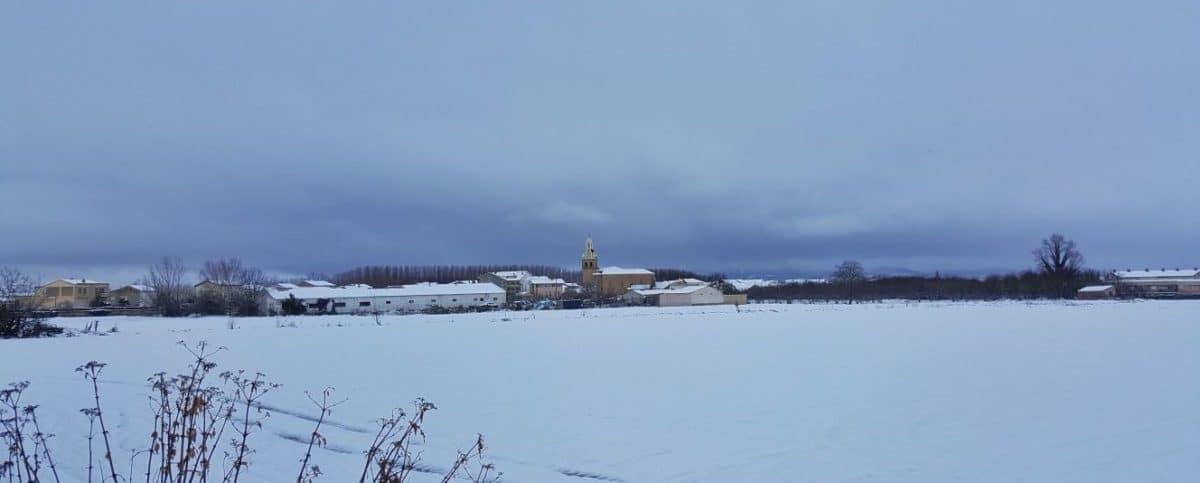 Estampas de la nevada en la Rioja Alta: paisajes vestidos de blanco para despedir la Navidad 15