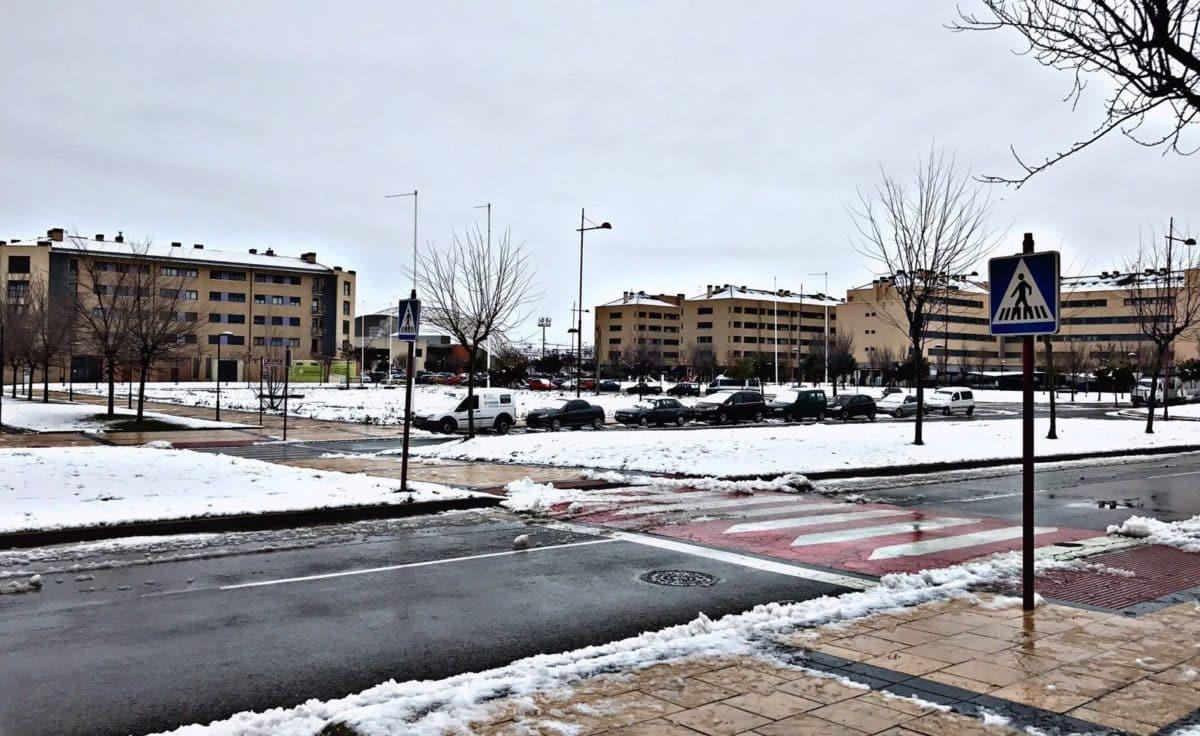 Estampas de la nevada en la Rioja Alta: paisajes vestidos de blanco para despedir la Navidad 19