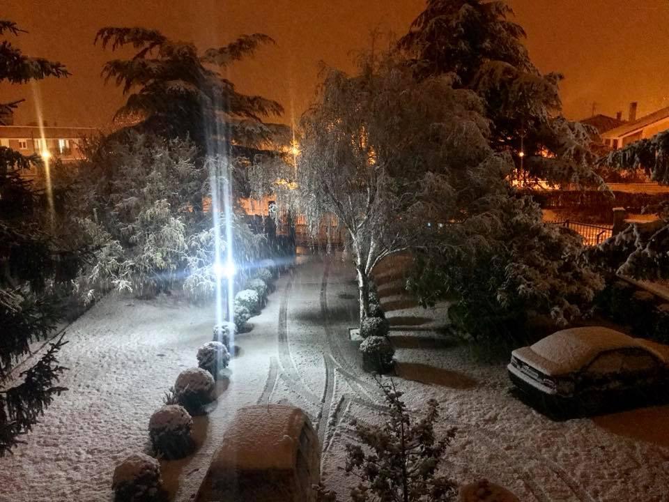 Estampas de la nevada en la Rioja Alta: paisajes vestidos de blanco para despedir la Navidad 24