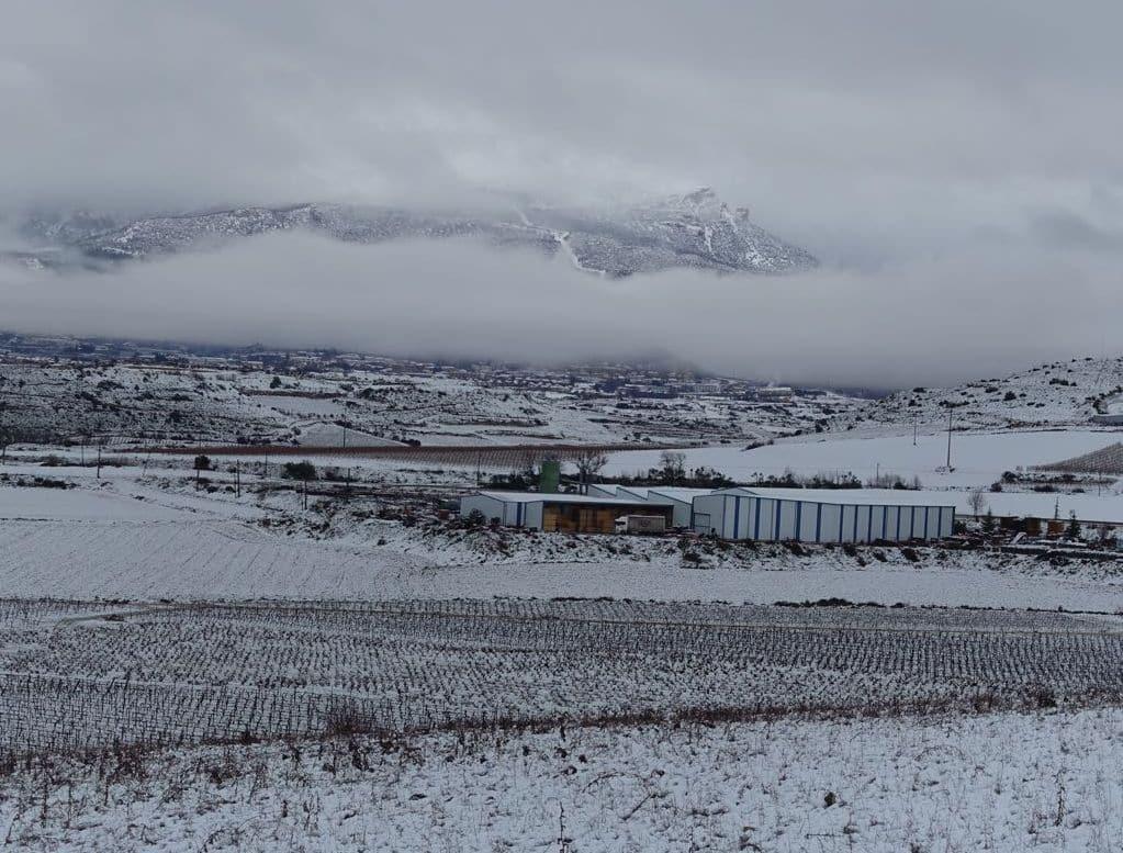 Estampas de la nevada en la Rioja Alta: paisajes vestidos de blanco para despedir la Navidad 27