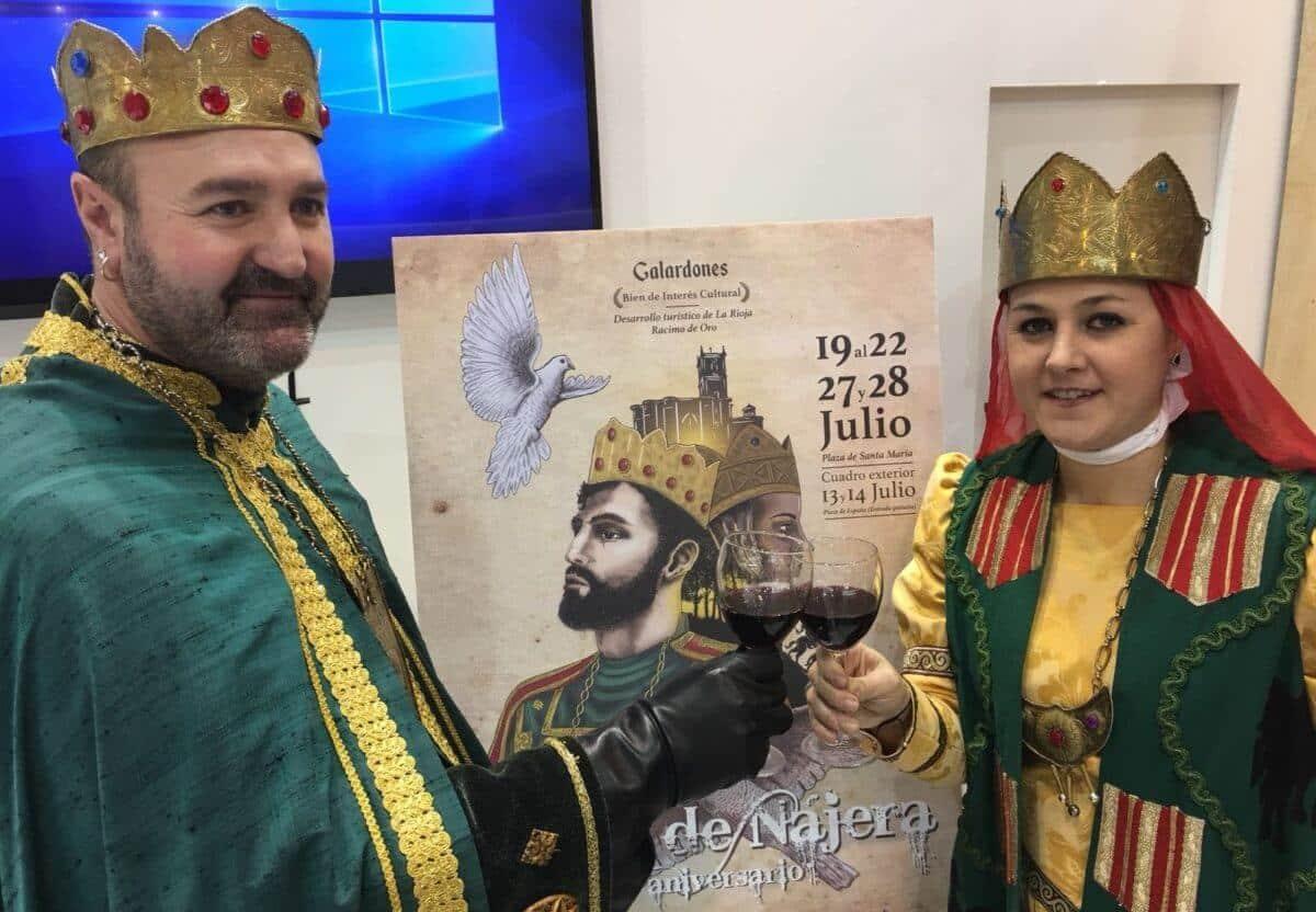 FITUR 2018: Se presenta oficialmente la 50ª edición del Reino de Nájera 2