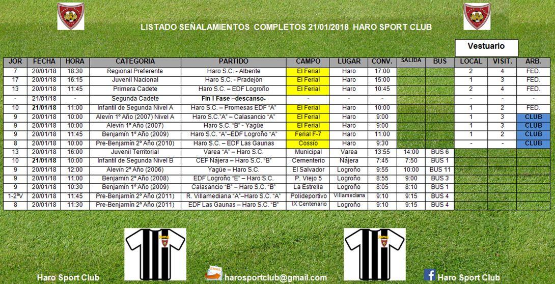 Jornada del Haro Sport Club: partidos del Regional y del Juvenil Nacional para este sábado por la tarde en El Ferial 1