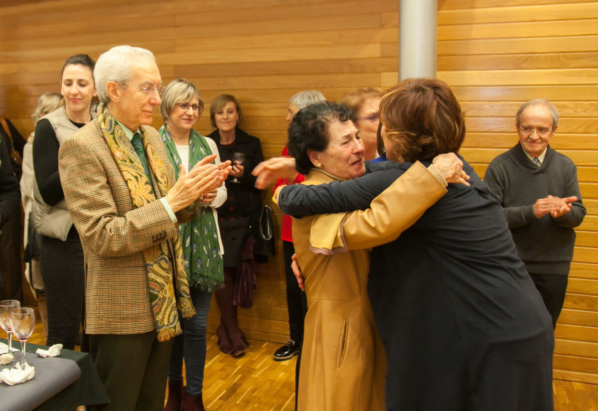 Los periodistas riojanos recuerdan a Emilio Ramírez y homenajean a Teresa Alonso 2