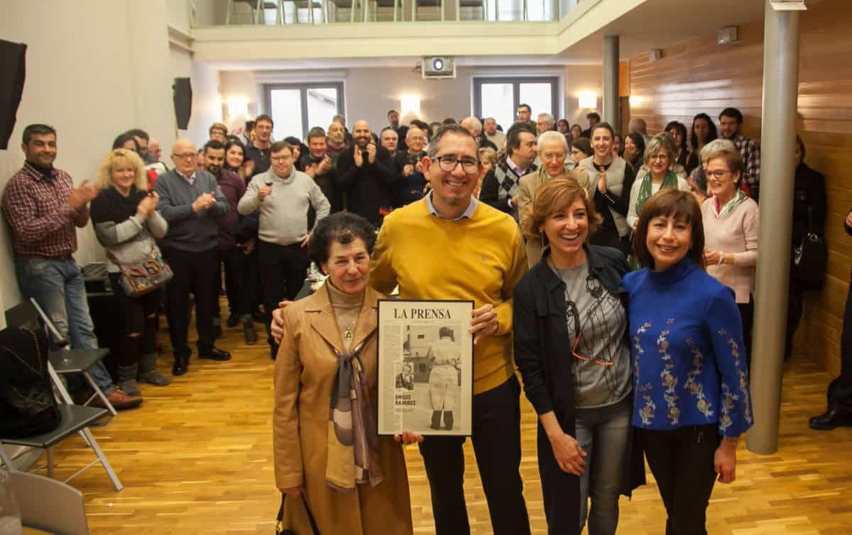 Los periodistas riojanos recuerdan a Emilio Ramírez y homenajean a Teresa Alonso 3