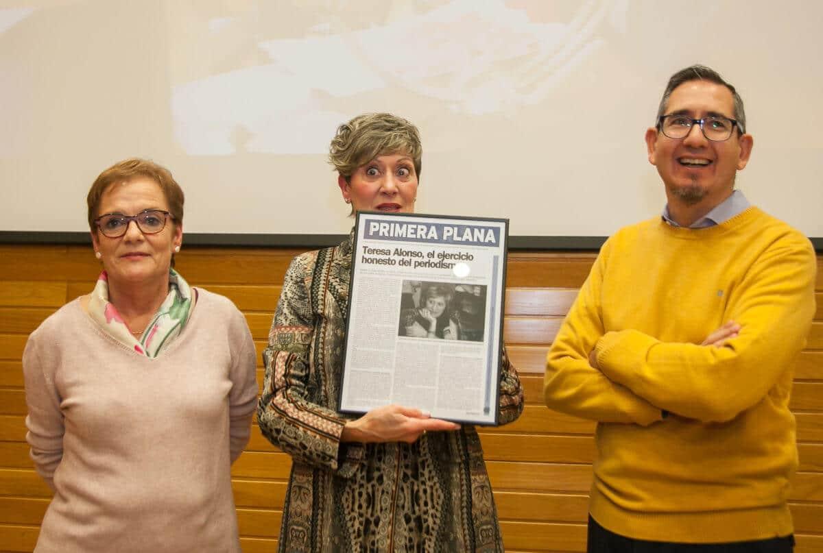Los periodistas riojanos recuerdan a Emilio Ramírez y homenajean a Teresa Alonso 5