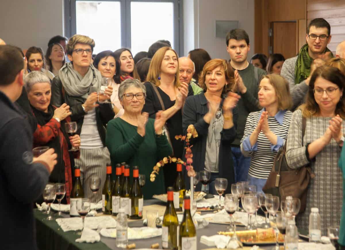 Los periodistas riojanos recuerdan a Emilio Ramírez y homenajean a Teresa Alonso 6