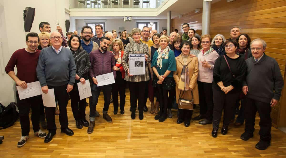 Los periodistas riojanos recuerdan a Emilio Ramírez y homenajean a Teresa Alonso 8