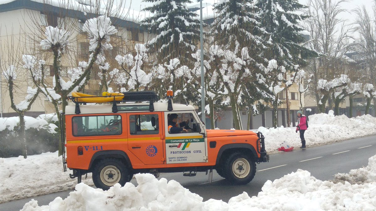 Se mantienen 12 equipos para resolver las incidencias en las carreteras de La Rioja 2