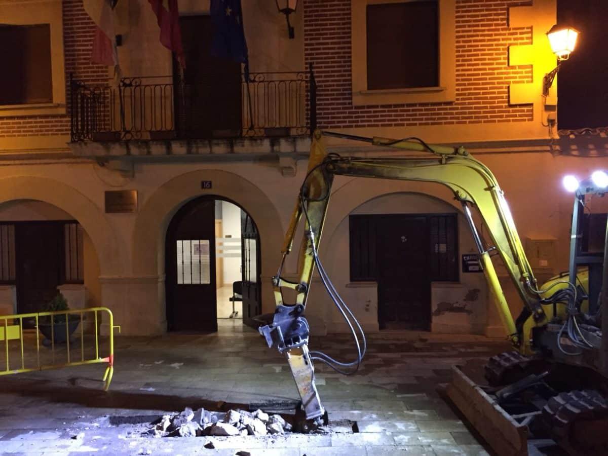 'Cazada' y reparada otra fuga de agua en Casalarreina 3