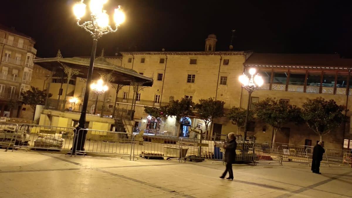 De los retrasos de las obras en la plaza de la Paz a los problemas en el mercado municipal 1