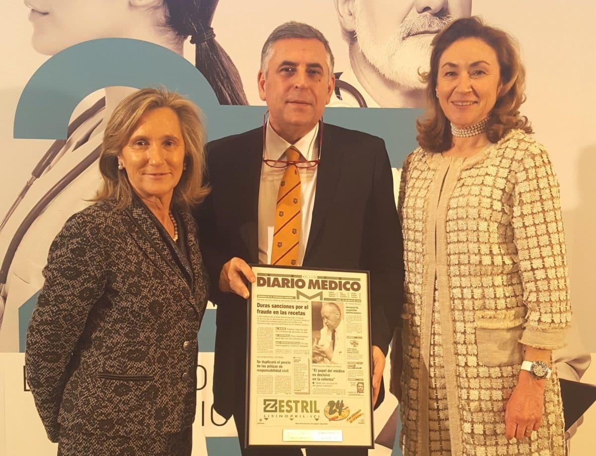 """El homenaje de Fernando de la Fuente a la """"lucha sin tregua"""" de los sanitarios y médicos de Haro 1"""
