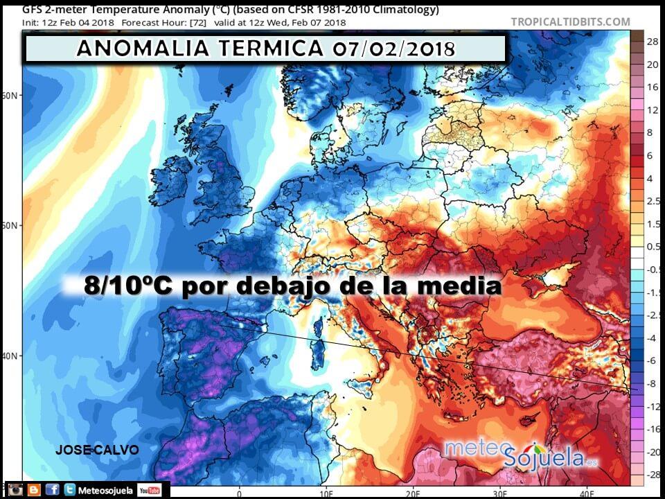 El más puro invierno se cierne sobre La Rioja 1