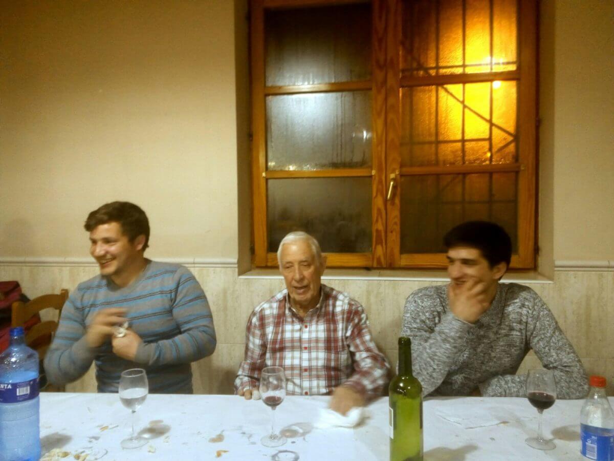 Fonzaleche celebró Santa Águeda con una cena de hermandad 1