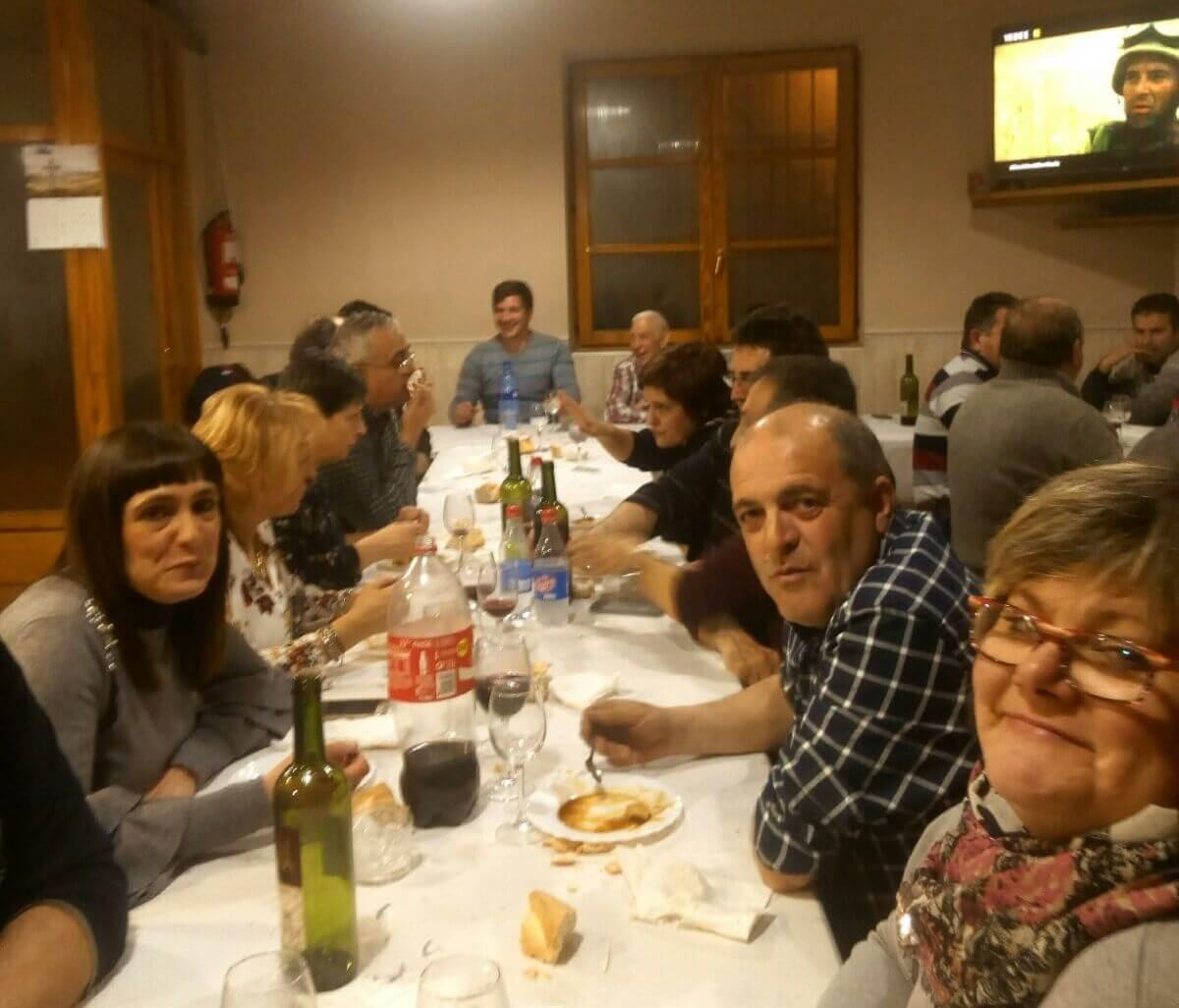Fonzaleche celebró Santa Águeda con una cena de hermandad 2