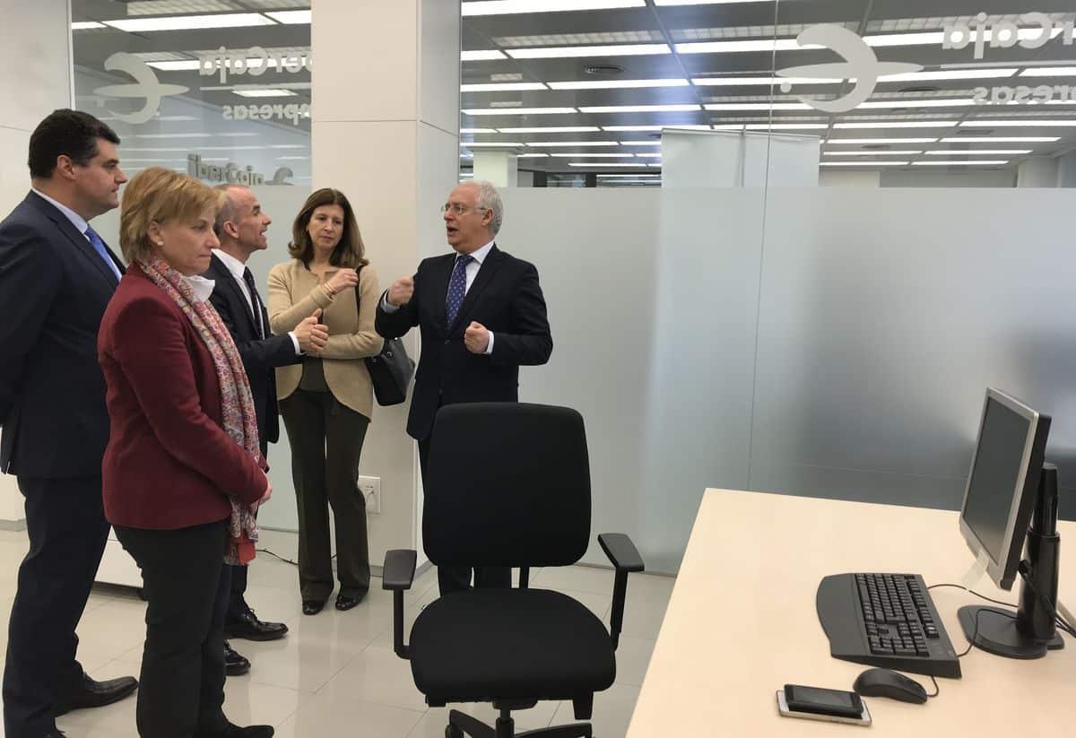 Ibercaja inaugura en Logroño el 'Espacio Empresas' 1