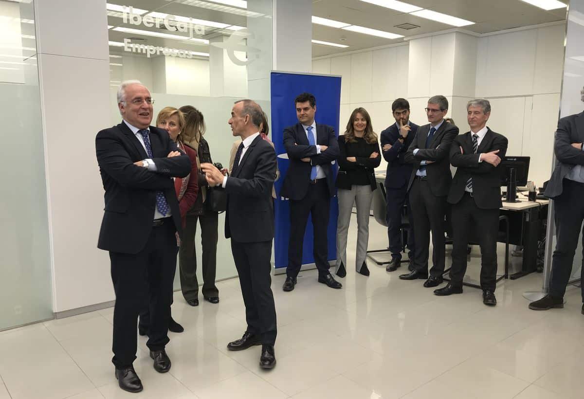 Ibercaja inaugura en Logroño el 'Espacio Empresas' 2