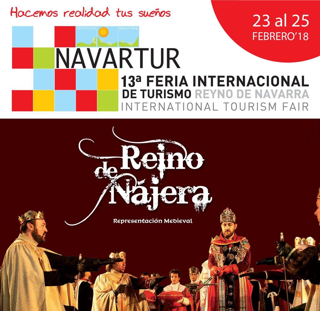 La feria Navartur acogerá este sábado la proclamación del Fuero de Nájera 1