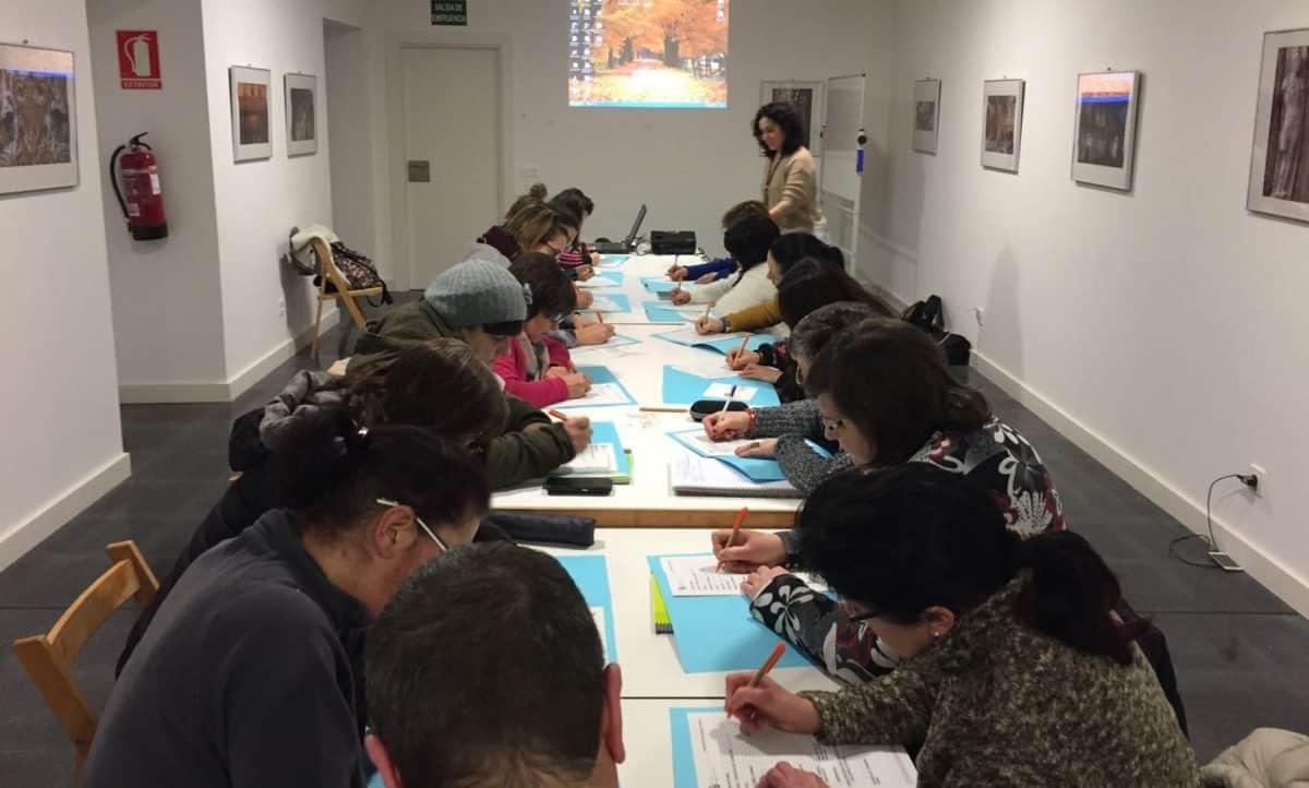 Se completan las inscripciones para el curso de formación de atención a la dependencia de Casalarreina 1