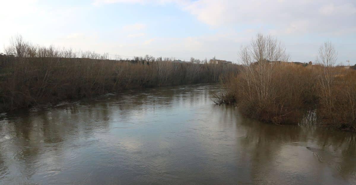 Situación estable del caudal de los ríos a su paso por Haro 1